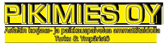 Asfaltin korjaus- ja paikkauspalvelua Turussa ja lähikunnissa, Asfaltti ja Asfaltointi Turku